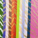Shoyu patterned textured paper, Mixed colour, 20cm x 20cm, 12 sheets, [YHZ161]